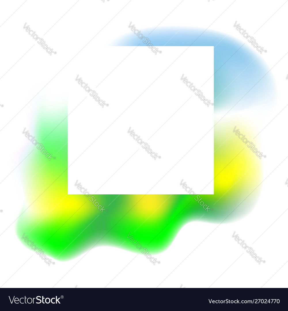 Abstract green yellow fluid background