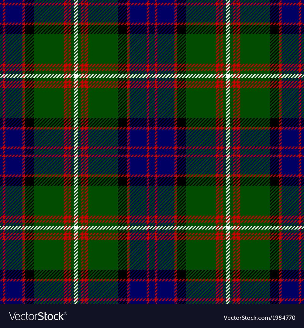 Clan Donald Tartan Plaid Pattern Seamless Design