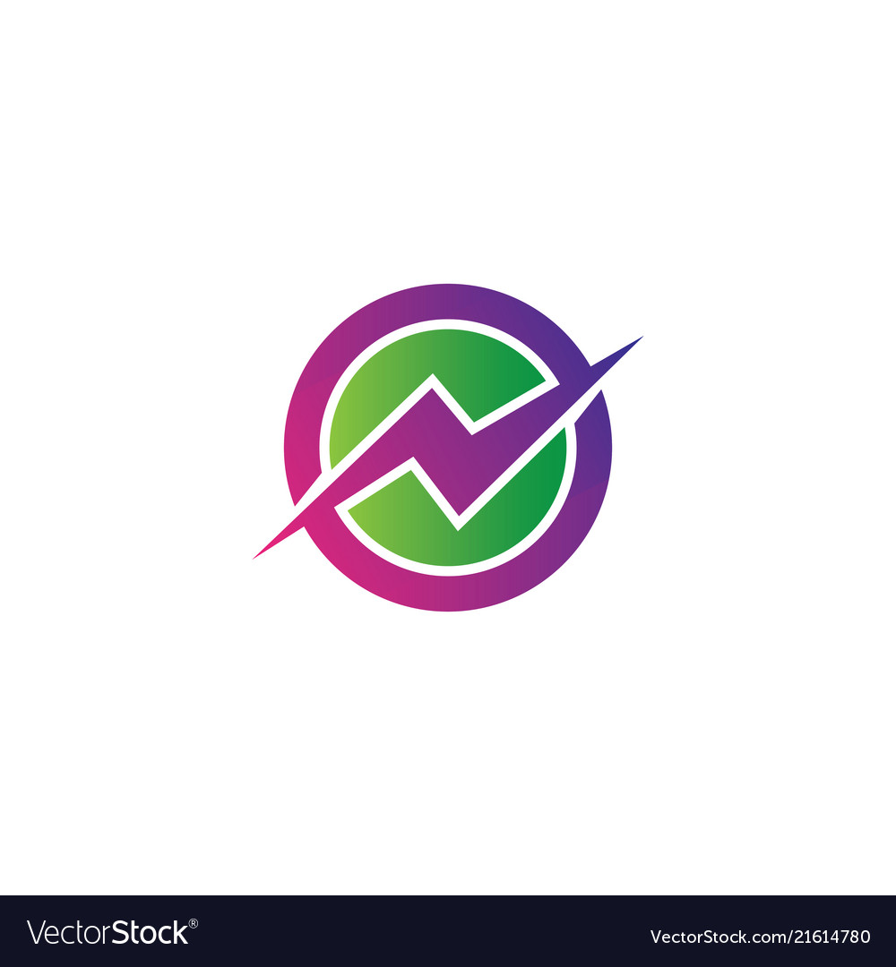 Circle flazz electric logo