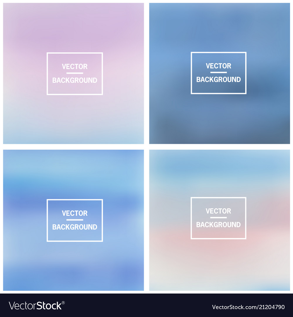 Abstract blurred backgrounds