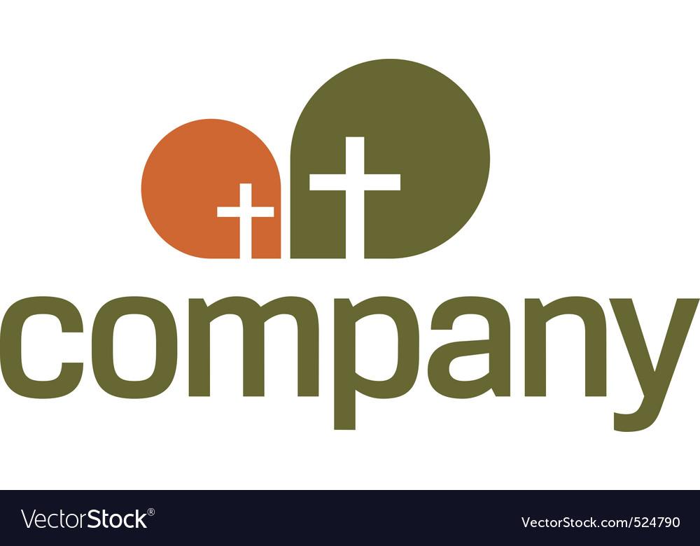 Religion logo cross symbol