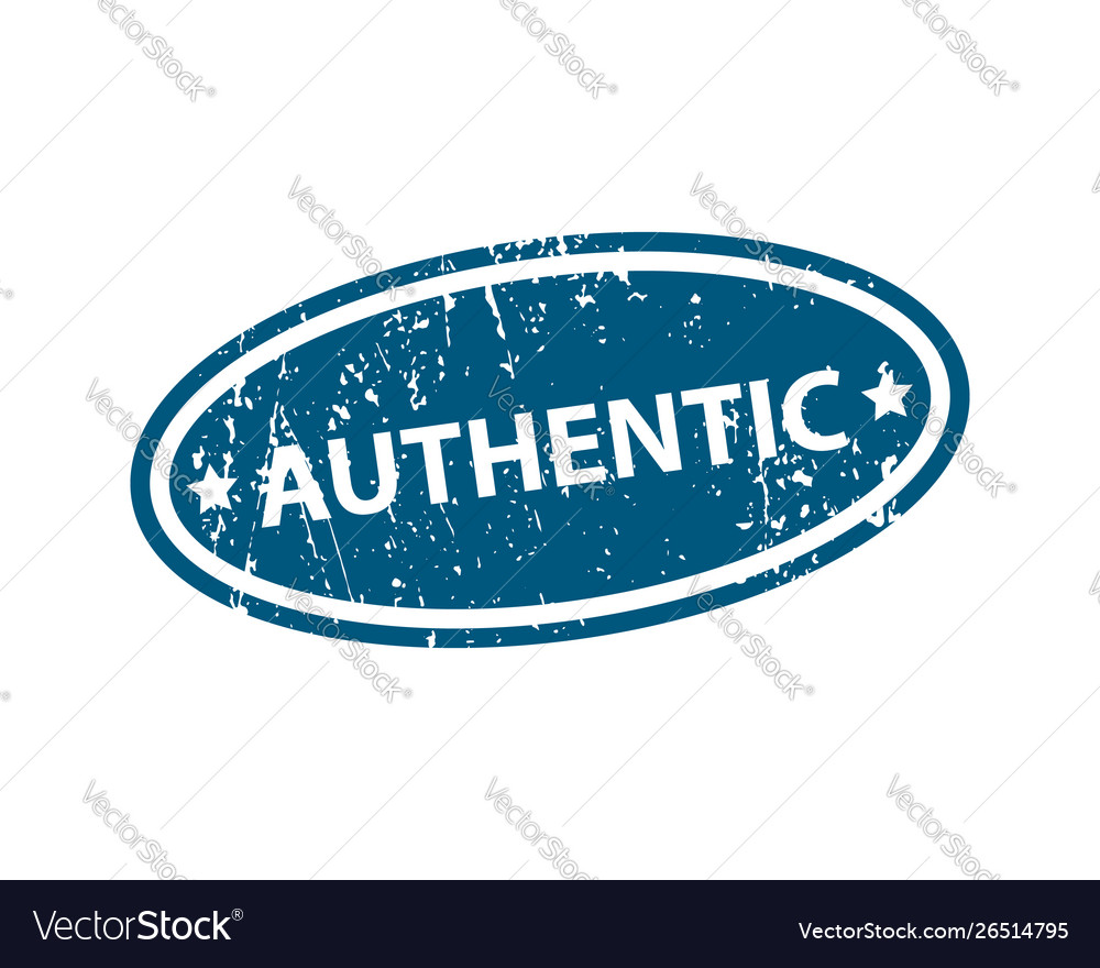 Authentic sign sticker stamp texture