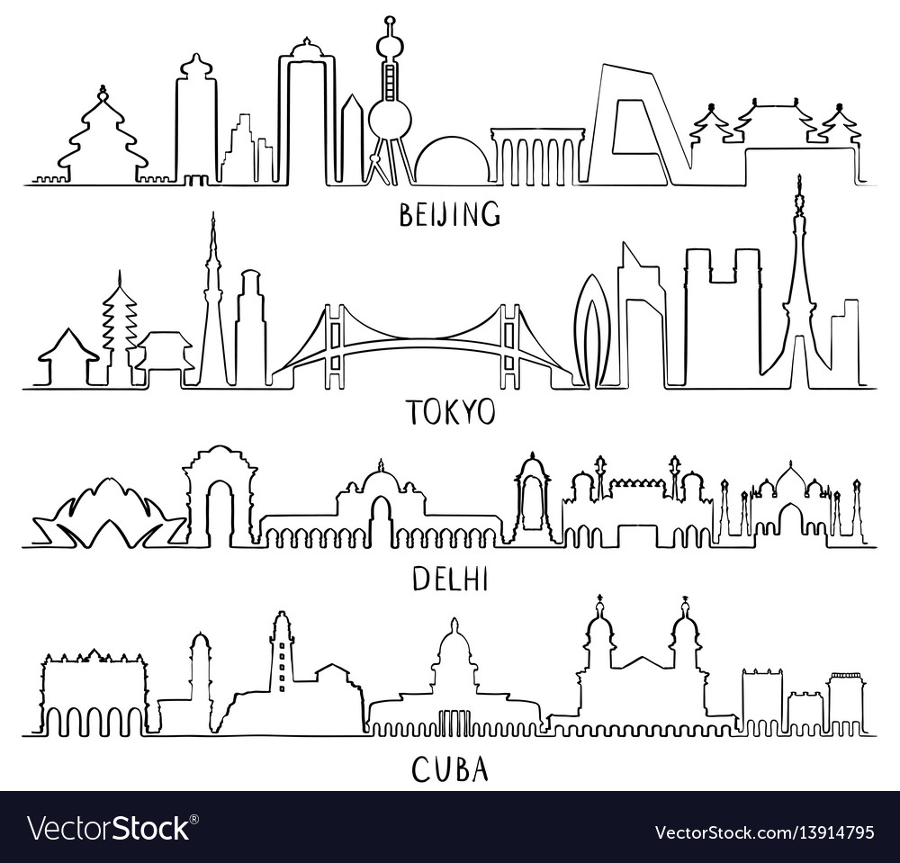New delhi outline icon vector images 60