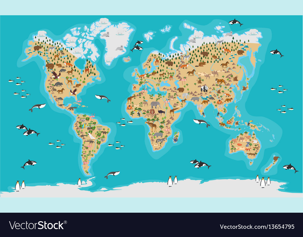 Map Of The World Detailed.World Map Highly Detailed