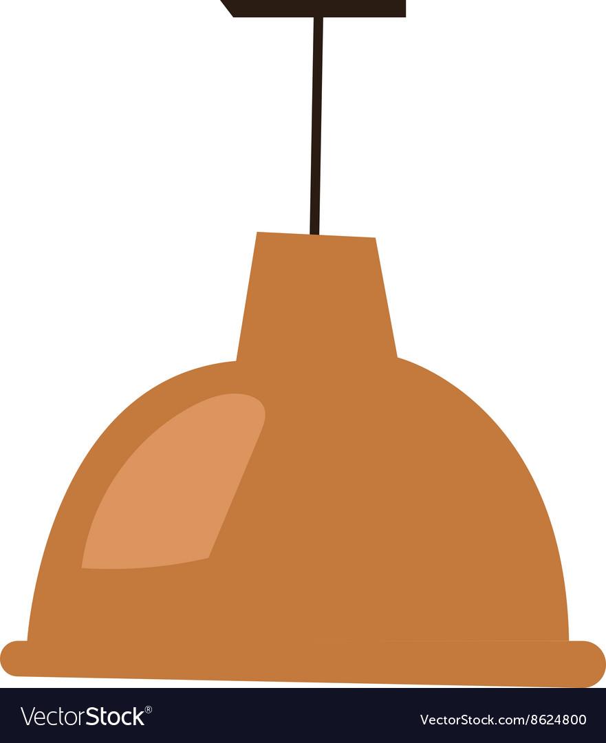 Brown lamp