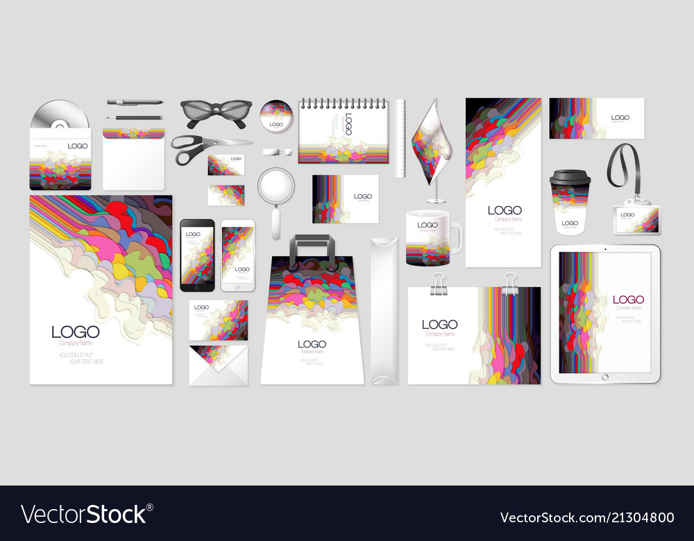 Set kit collection corporate identity