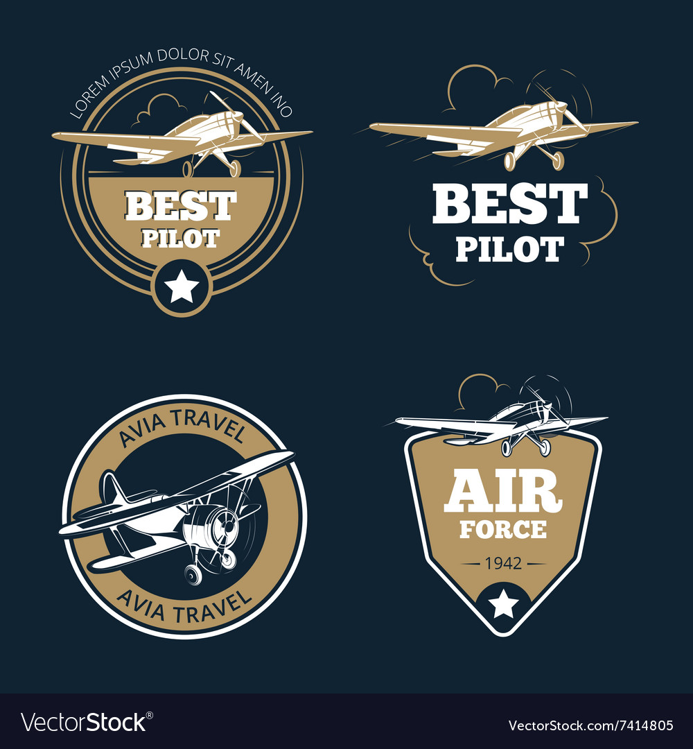 Aircraft and transportation labels Air tourism