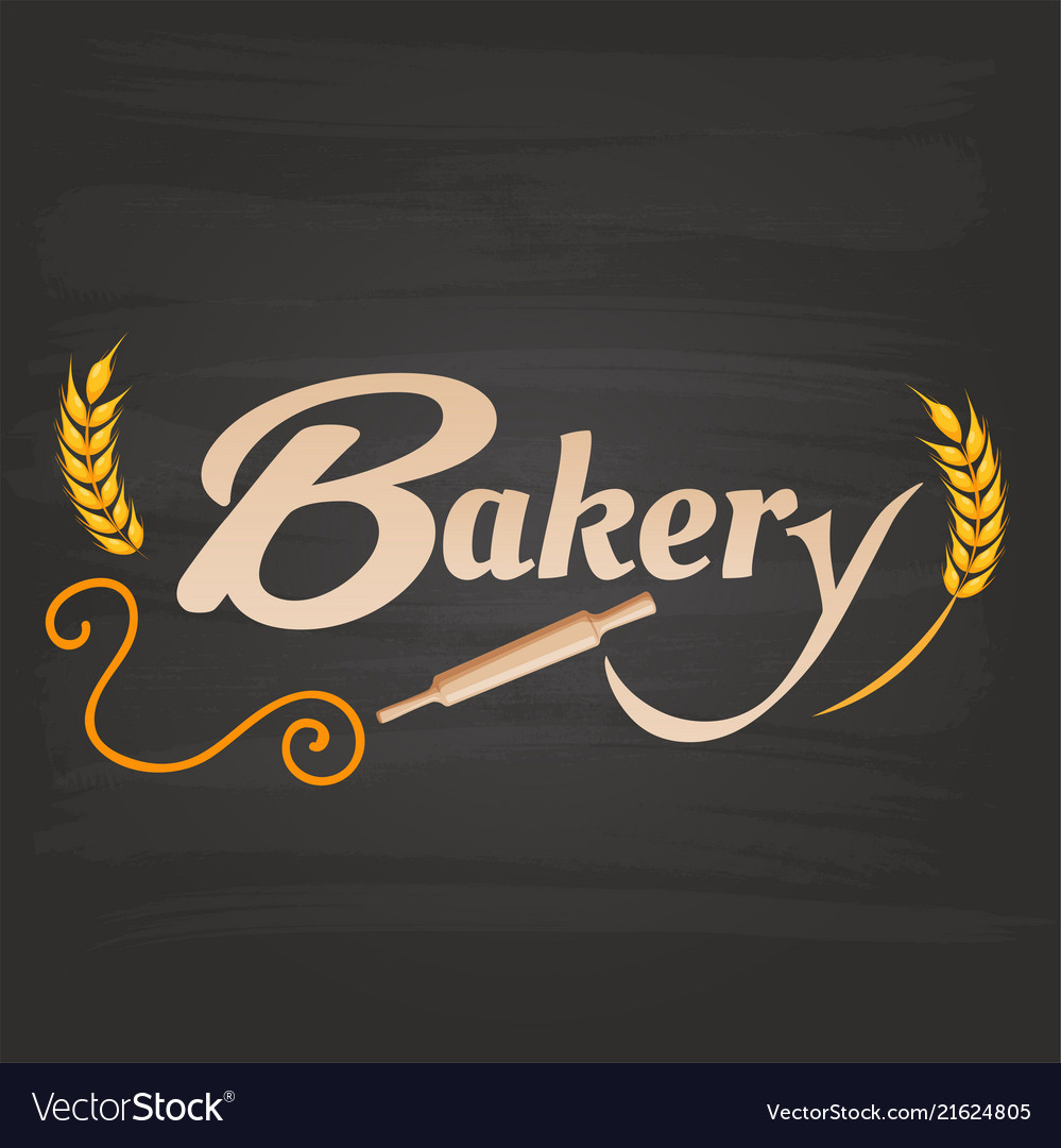 Bakery rolling pin malt background image
