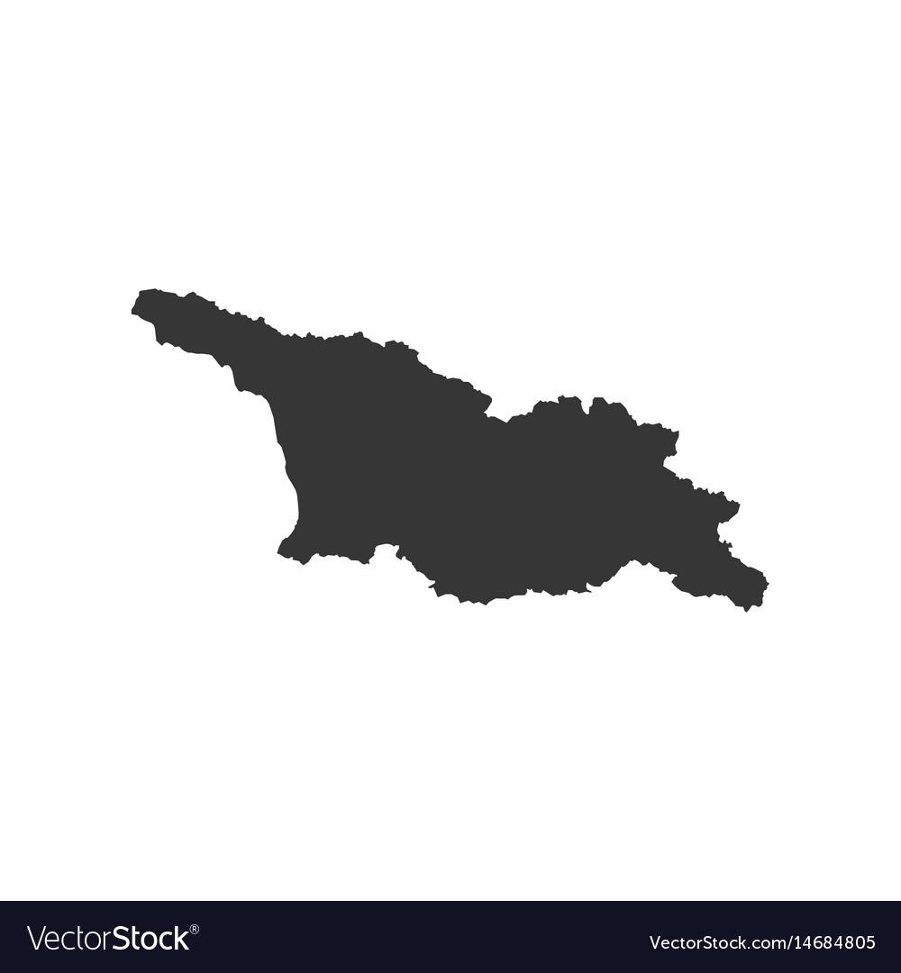 Free Map Of Georgia.Georgia Map Silhouette