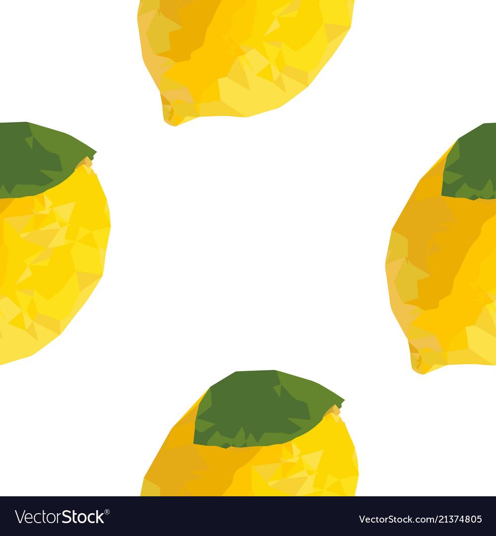 Lemon seamless pattern