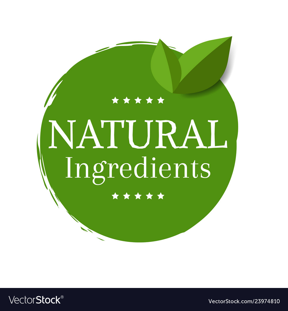 Natural label isolated