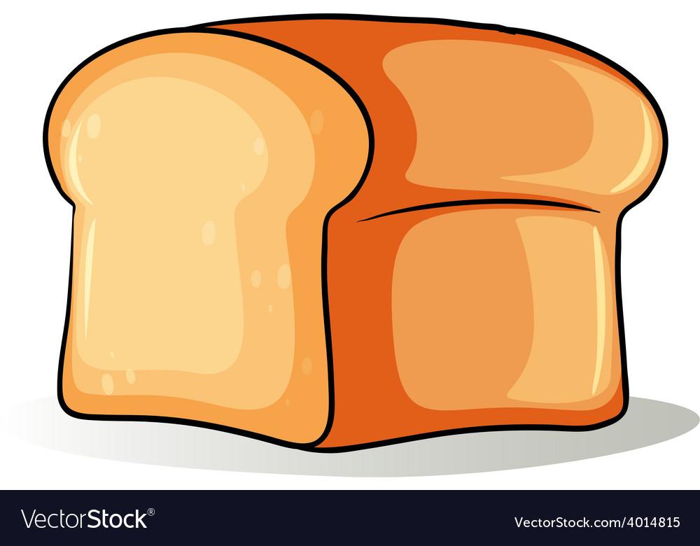 big loaf of bread royalty free vector image vectorstock rh vectorstock com cartoon picture of loaf of bread german loaf of bread cartoon