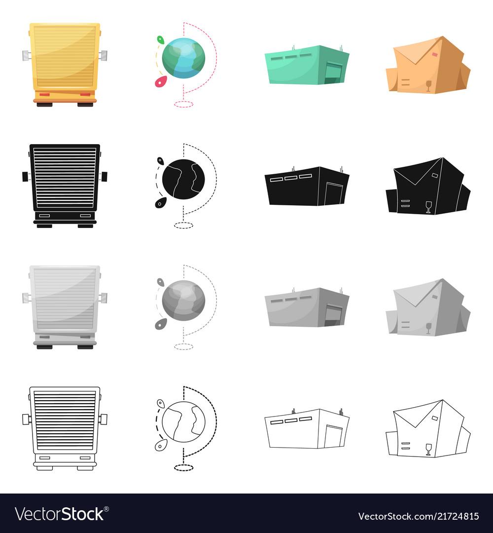 Goods and cargo symbol