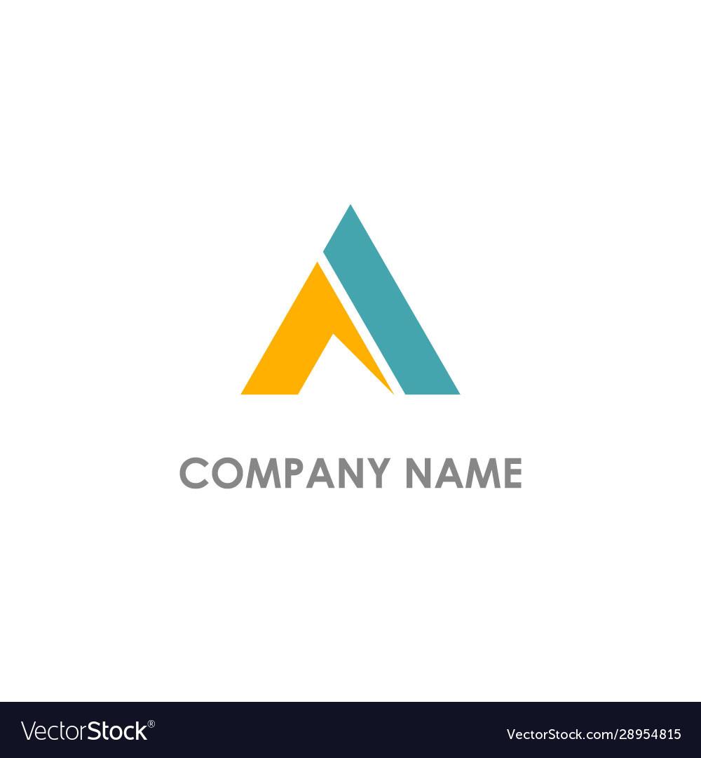 Triangle abstract logo