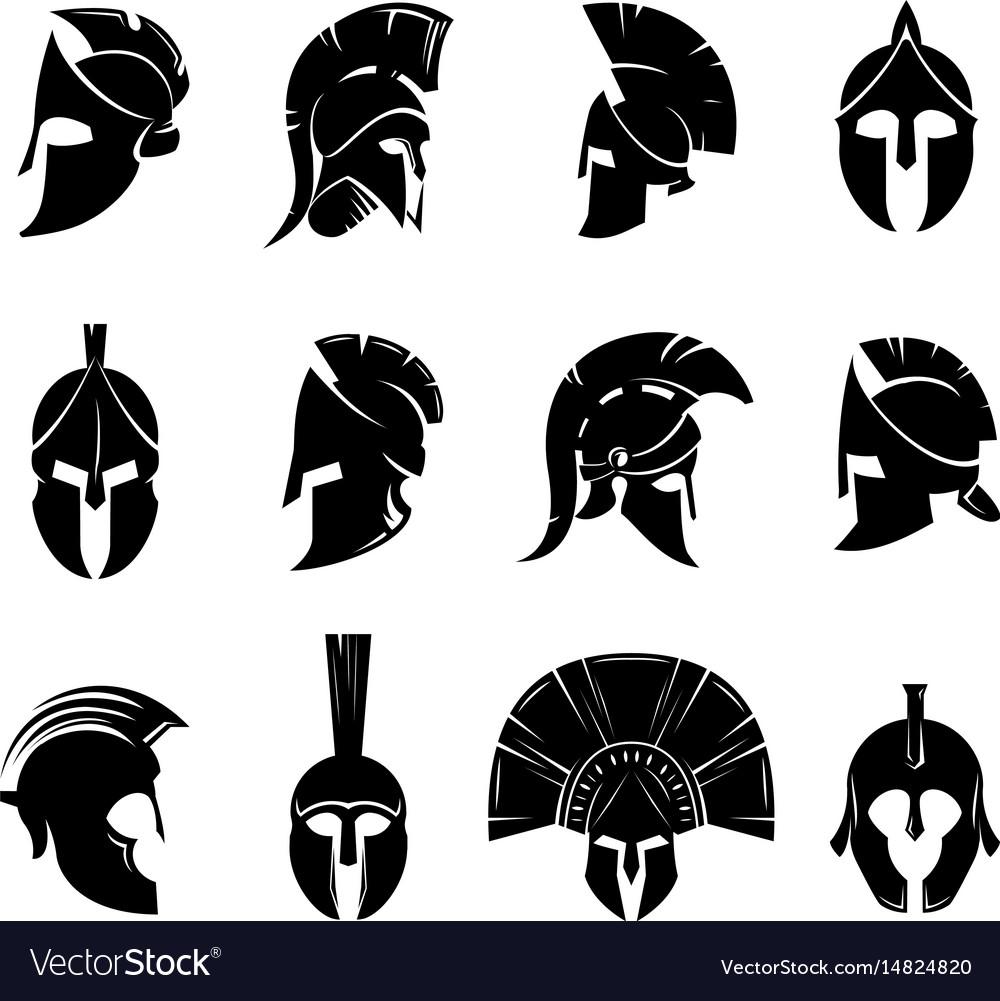 Spartan helmet set