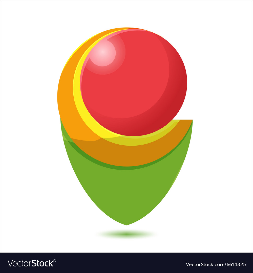 Abstract Logo Modern Icon Design vector image