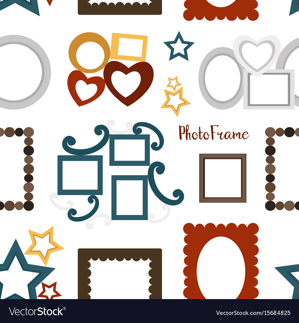 Photoframe set pattern