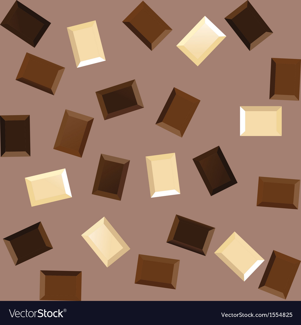 Seamless background with black and white chocolate