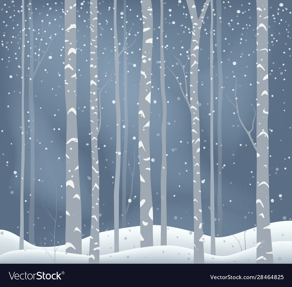 Winter holiday background snowy landscape
