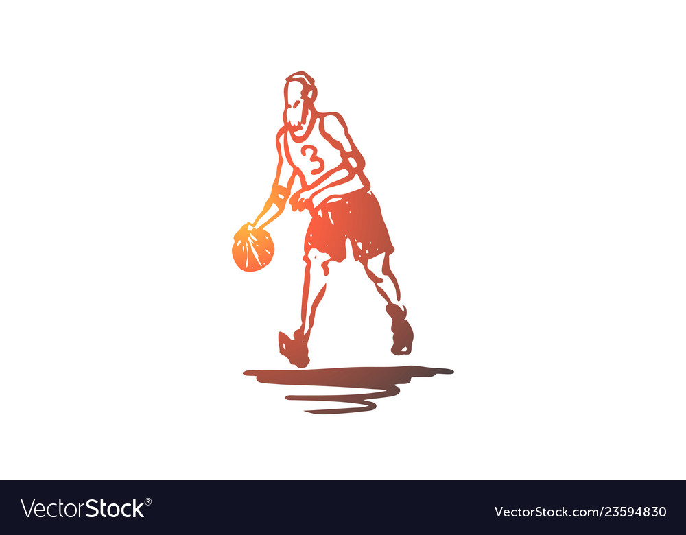 Old man play basketball activity concept hand