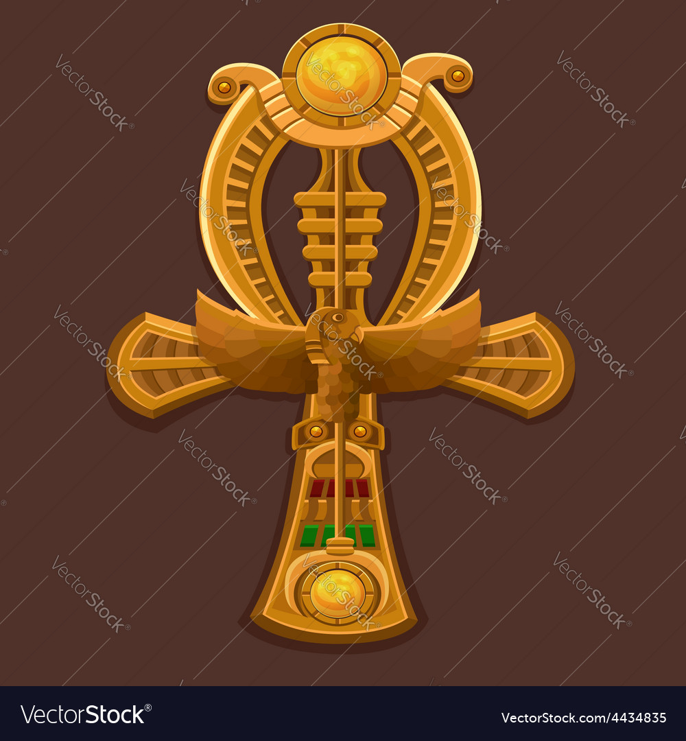 Golden Cross ankh