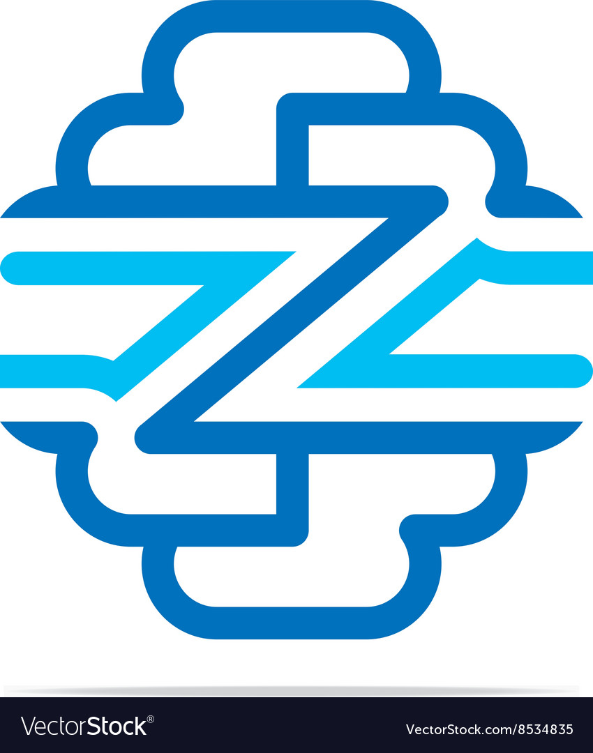 Logo Combination of Alphabet Z Art Collection