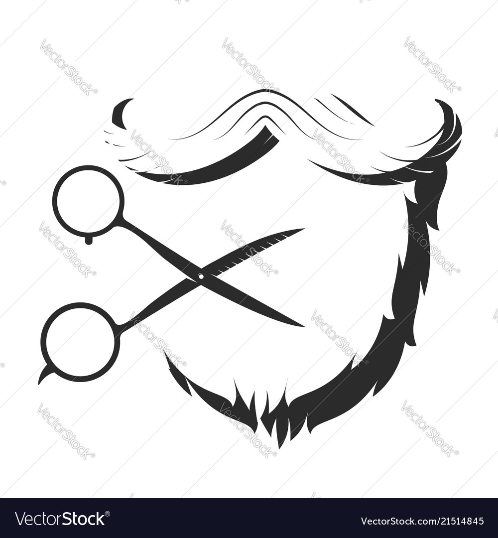 Beard and silhouette scissors