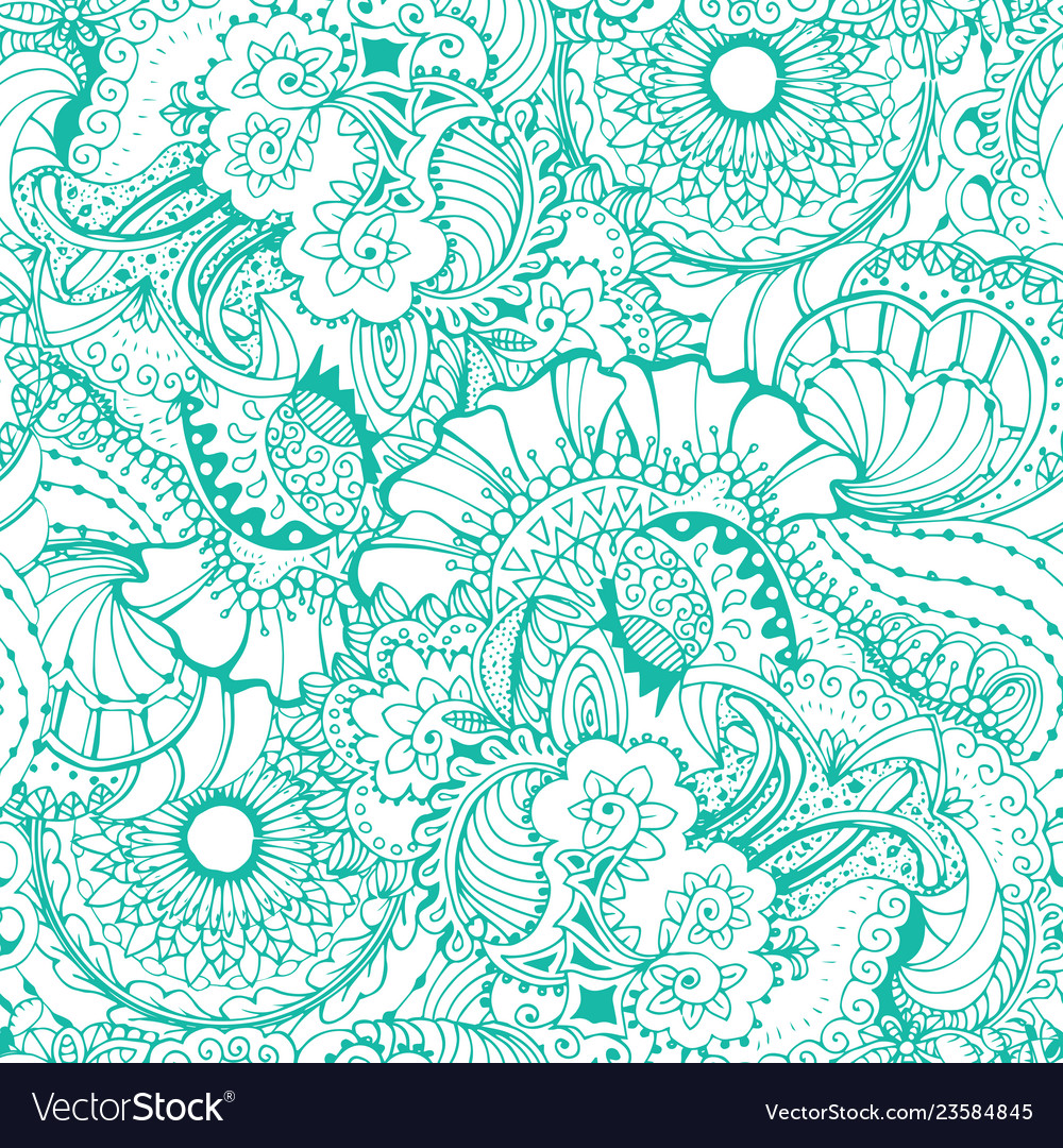 Coloring book page design with pattern mandala