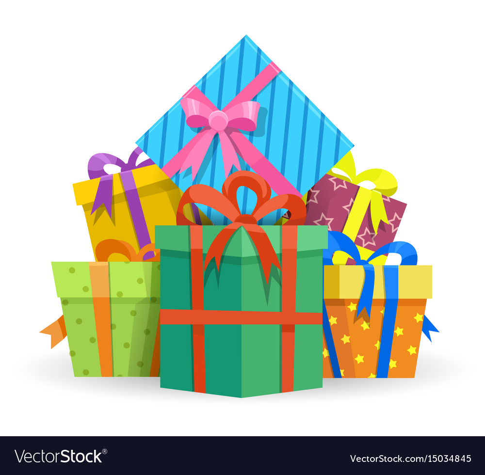 Presents or gifts boxes