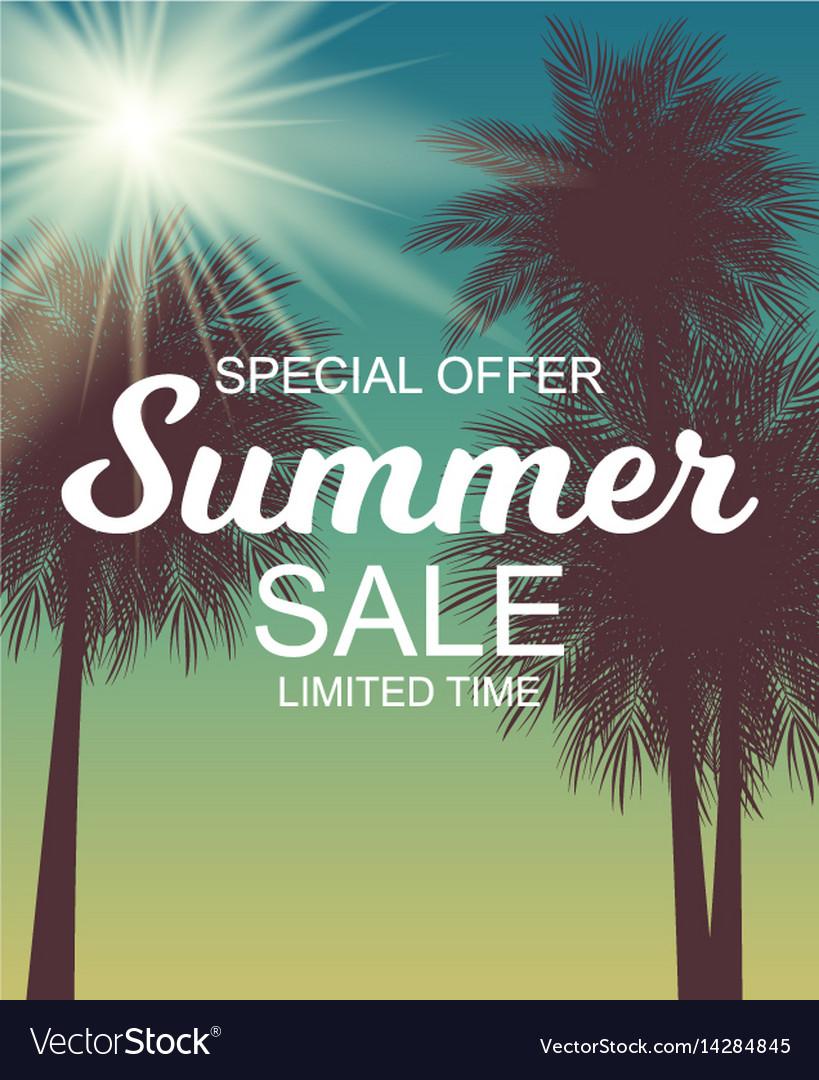 Summer sale background