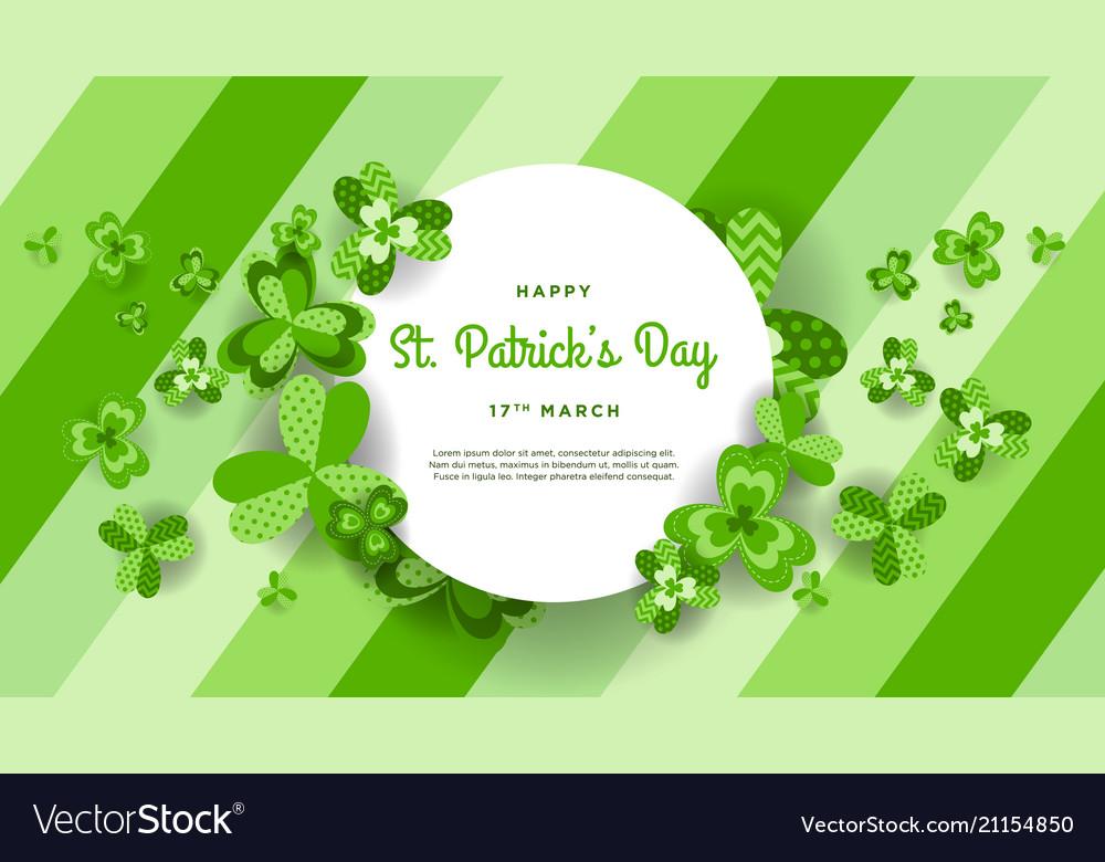 Happy St Patricks Day Invitation Wallpaper