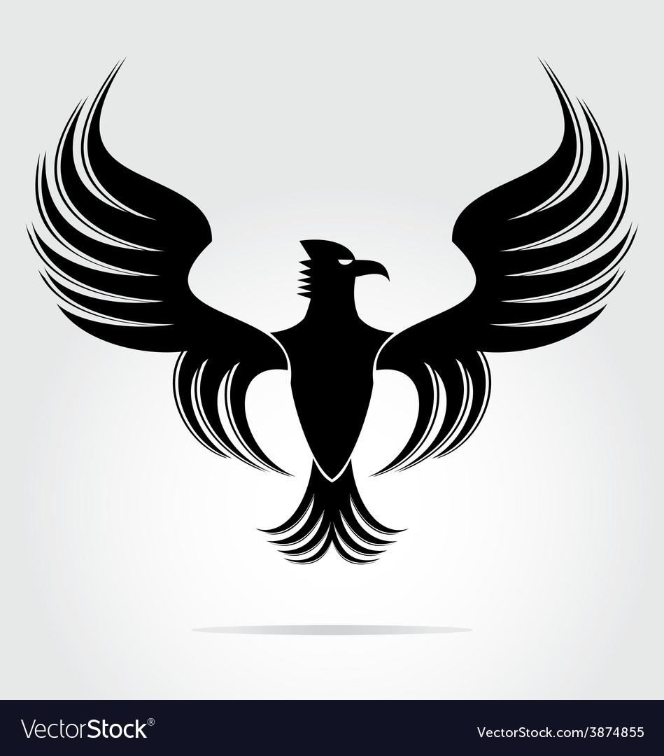 Eagle Bird Art vector image