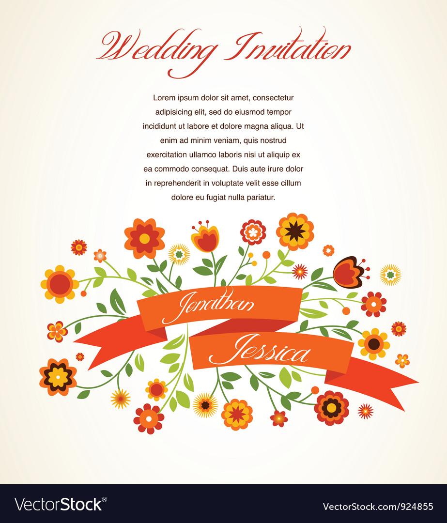 Greeting card invitation