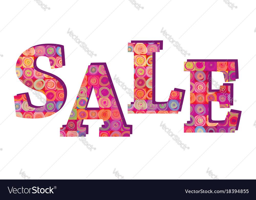 sale banner big summer sale sign over white vector image
