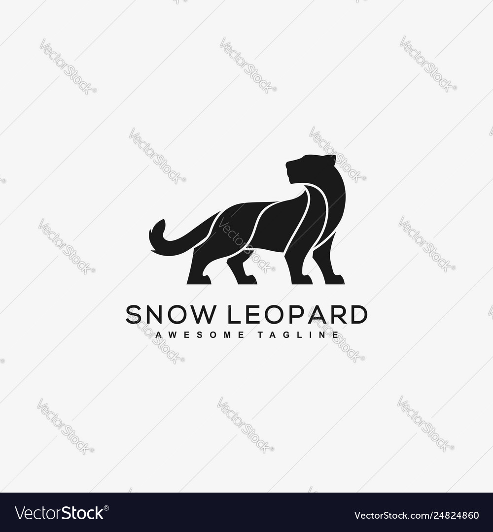 Abstract leopard black color concept