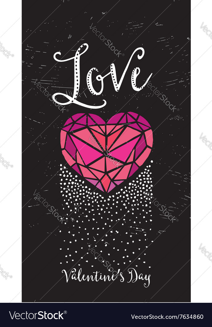 Valentine Party Invitation Holiday Card