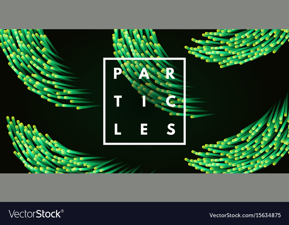 Abstract particles background vector image