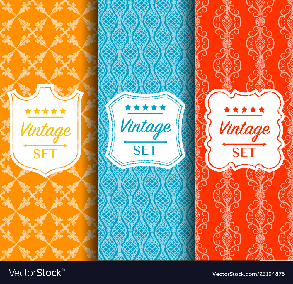 Bright seamless color pattern made of
