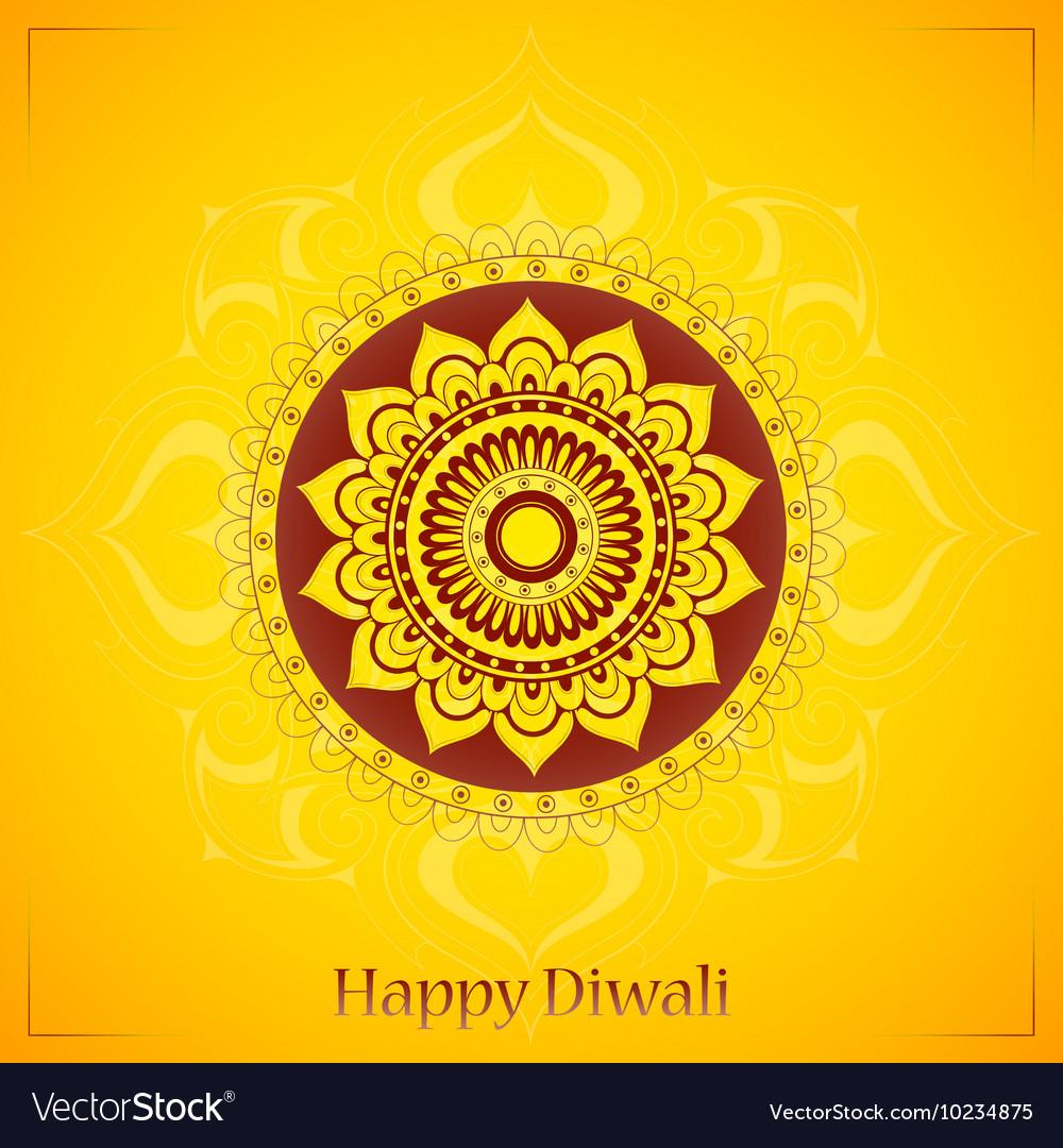 Diwali greeting card design royalty free vector image diwali greeting card design vector image m4hsunfo