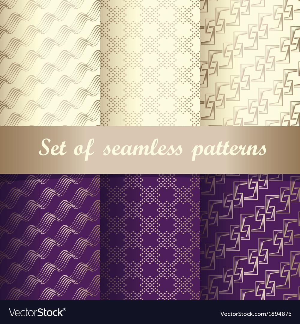 Set of seamless patterns 2
