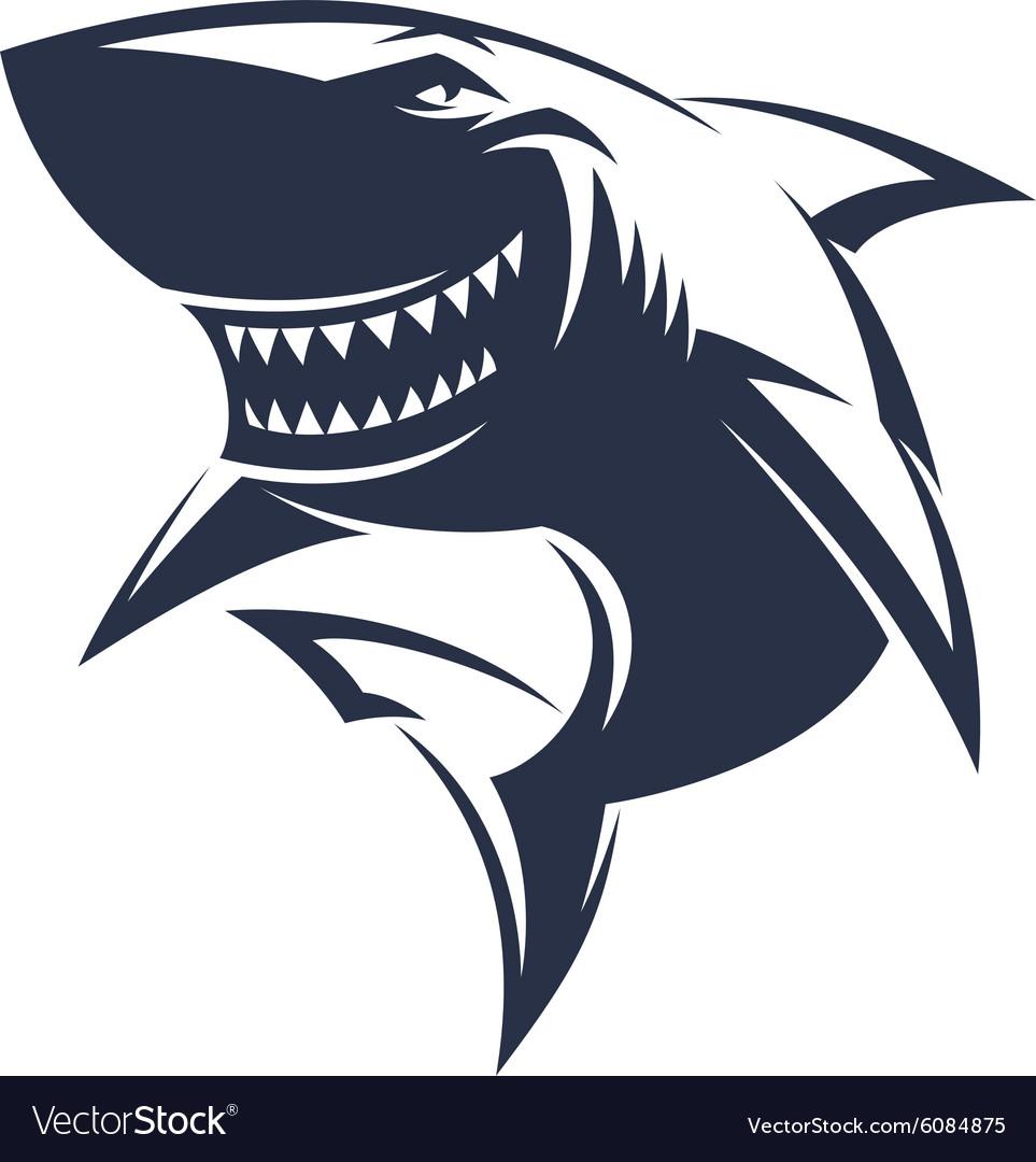Sharks logo Royalty Free Vector Image - VectorStock