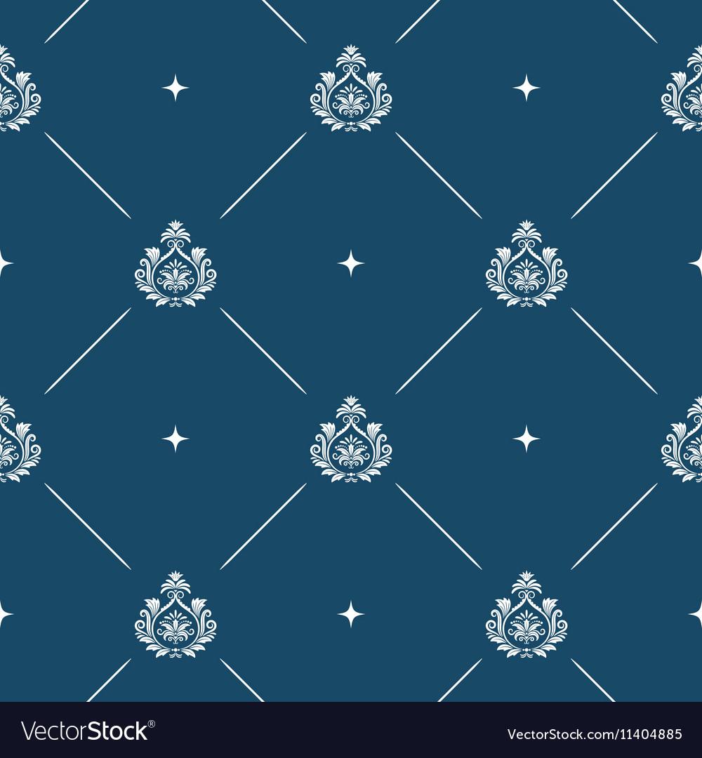 Seamless pattern background baroque