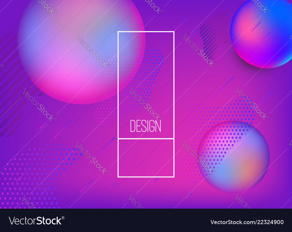Abstract background with dynamic shape