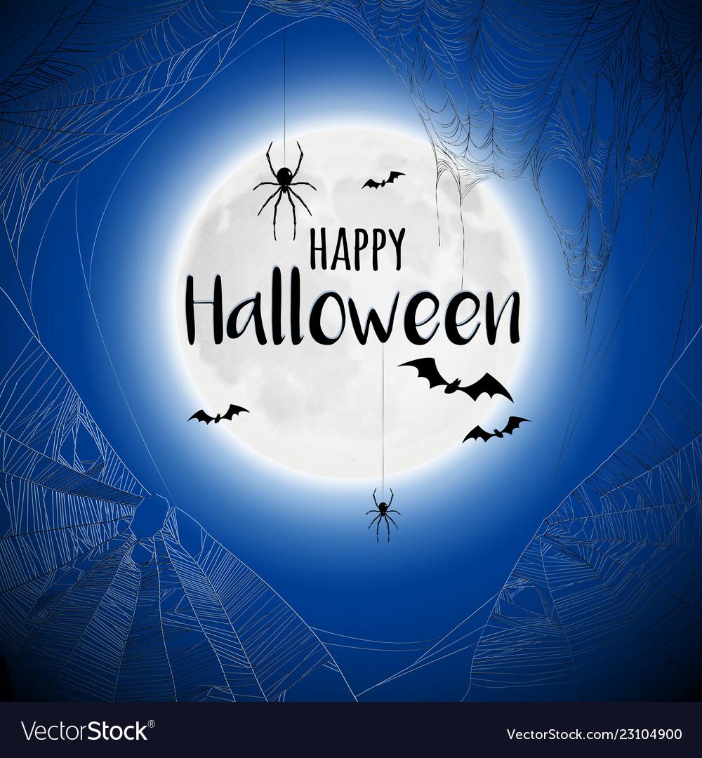 Cobweb spiderweb halloween background