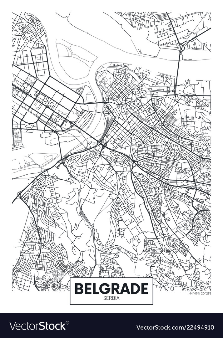City Maps Belgrade Serbia
