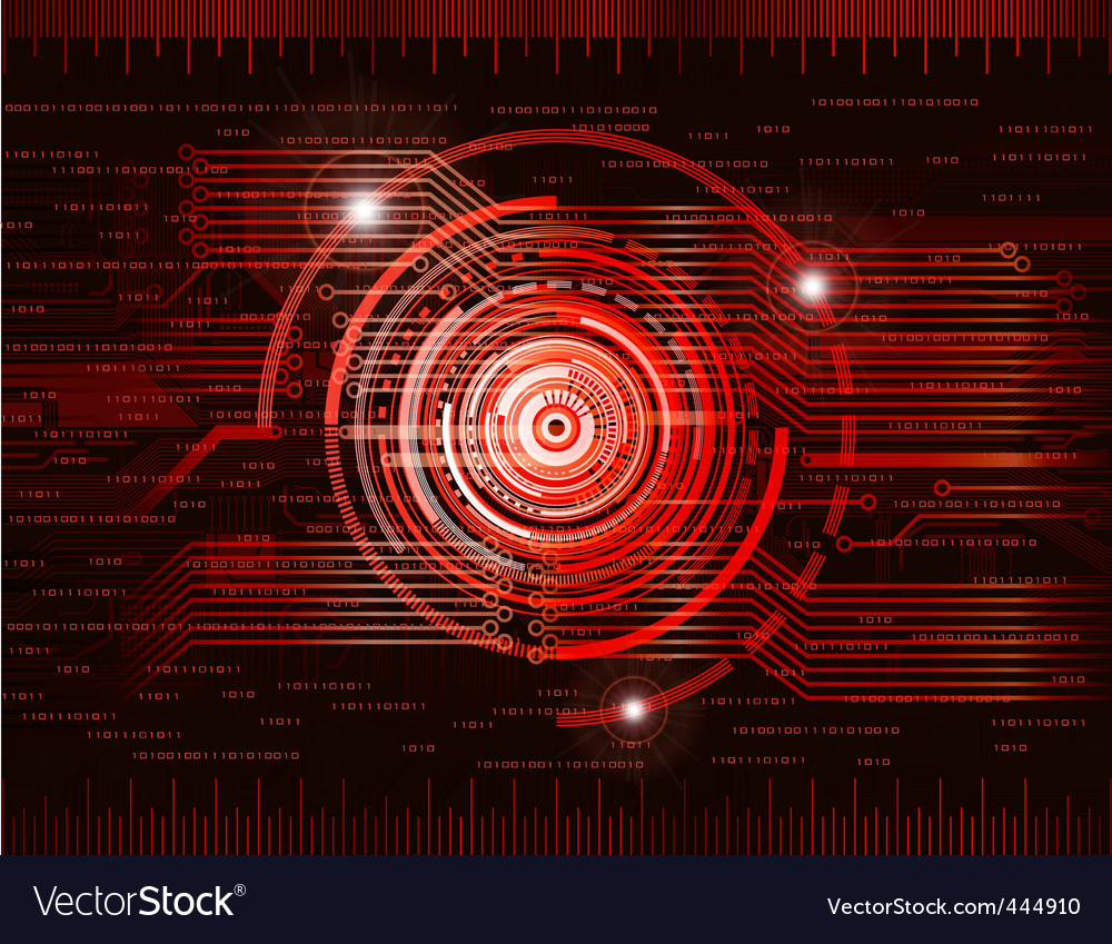 Red vector image