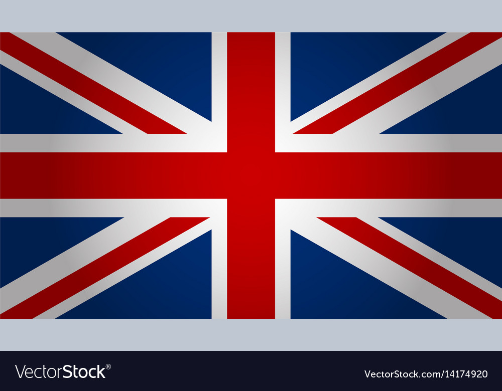 England Flag Background Royalty Free Vector Image