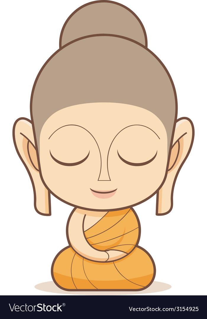 buddha royalty free vector image vectorstock rh vectorstock com buddha vector png buddha vector logo