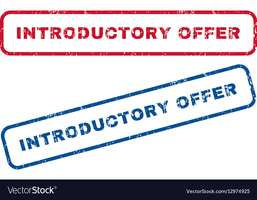 Introductory Offer Rubber Stamps
