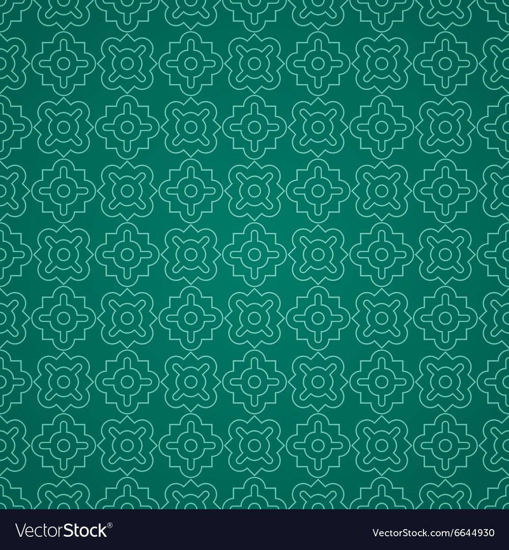 Arabic geometric seamless pattern Ethnic modern vector image